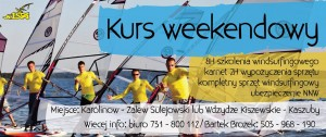 Kurs windsurfingu weekendowy!